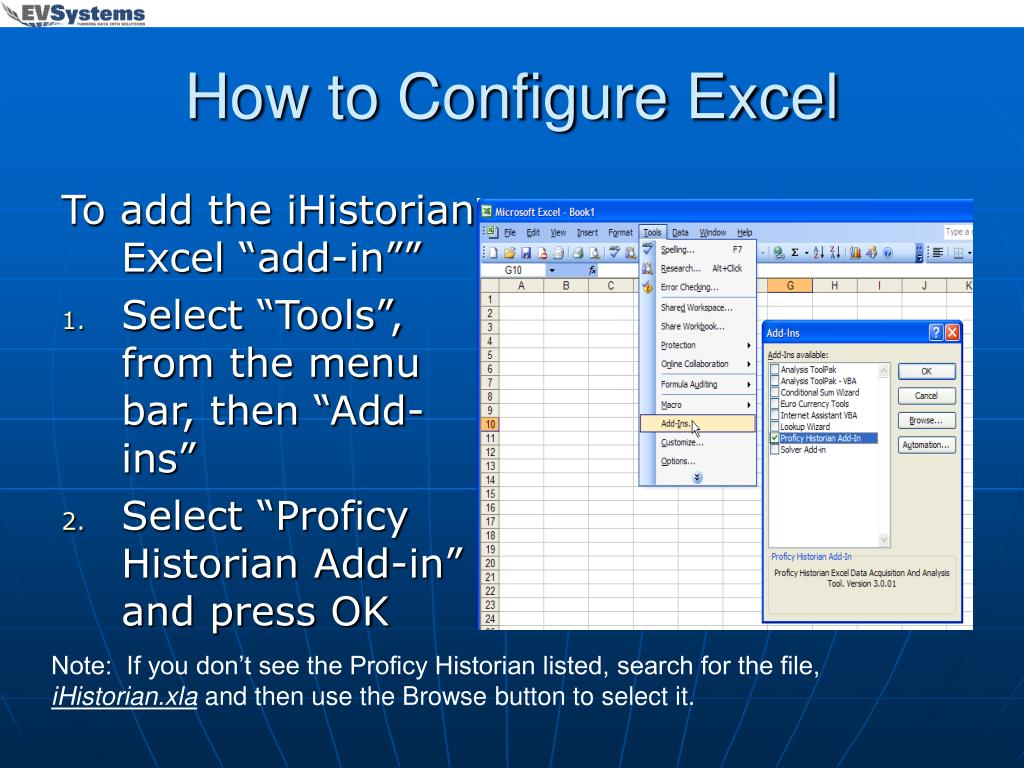 How to Configure Excel
