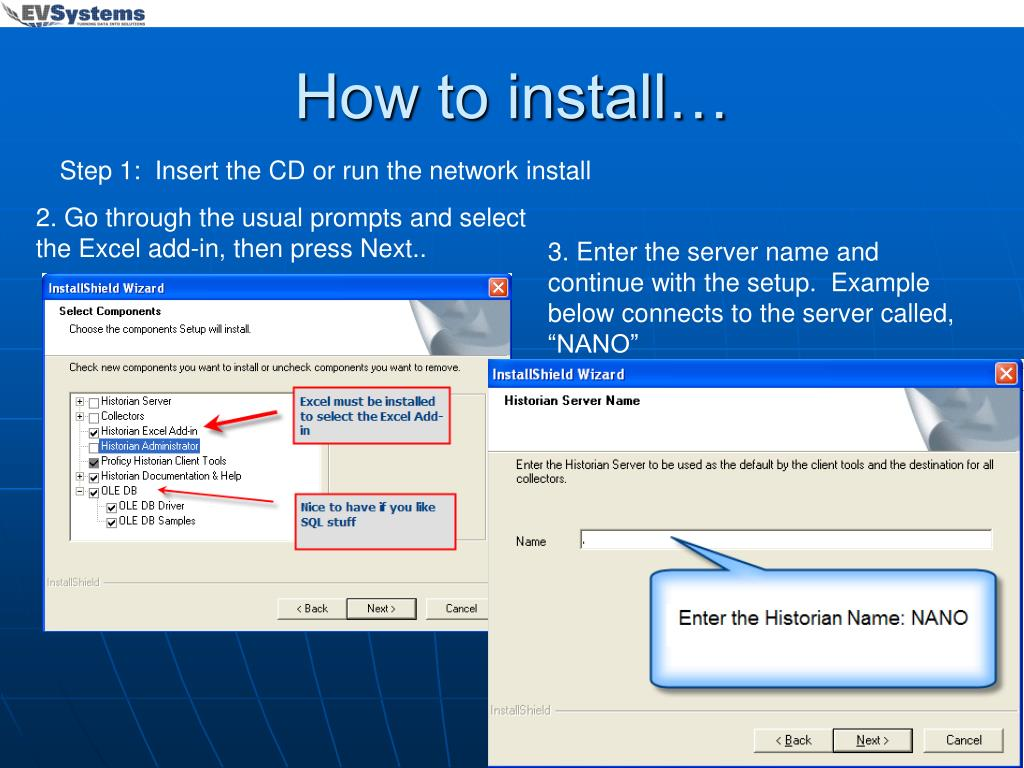 How to install…