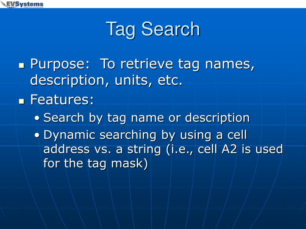 Tag Search