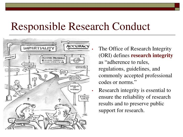Responsible Research Conduct