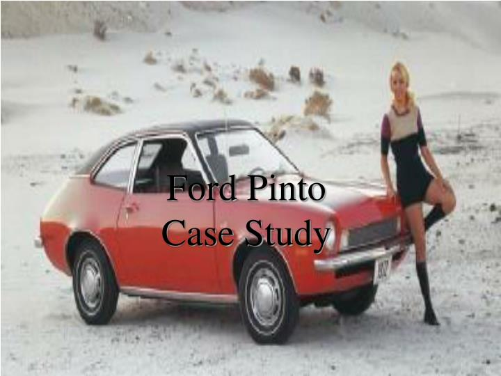 ford pinto trial essay