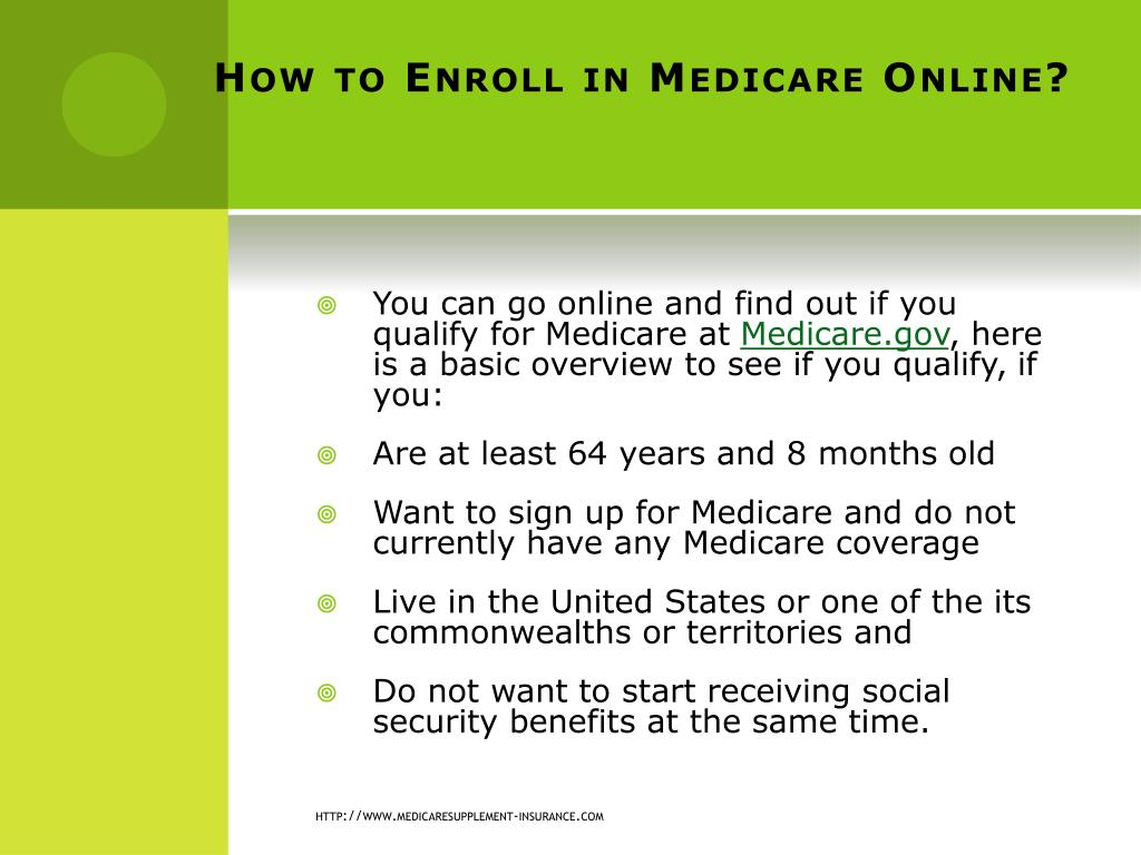 How to Enroll in Medicare Online?