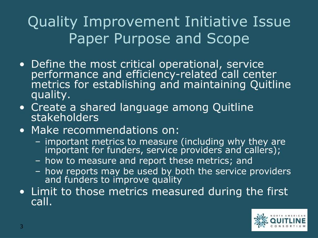 quality improvement essay Check out our quality improvement essay introduction quality improvement is a basic goal that the management has to take into consideration during decision making.