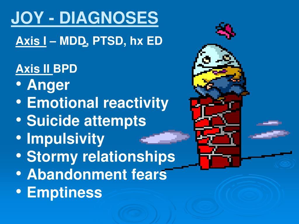 JOY - DIAGNOSES
