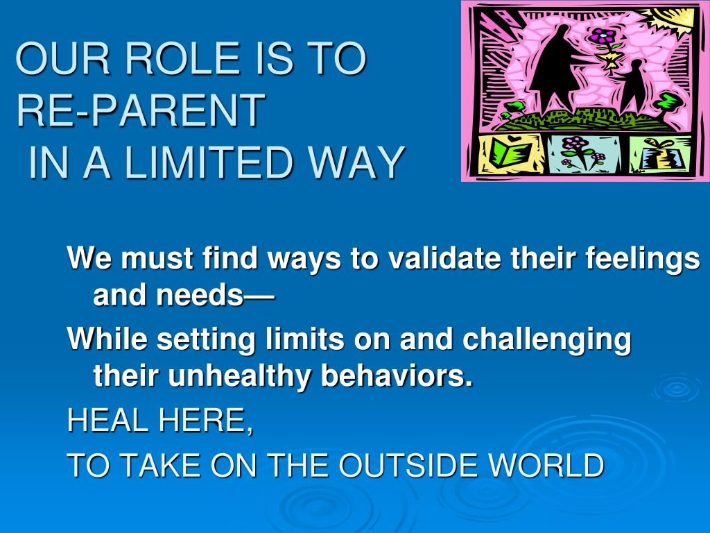 OUR ROLE IS TO