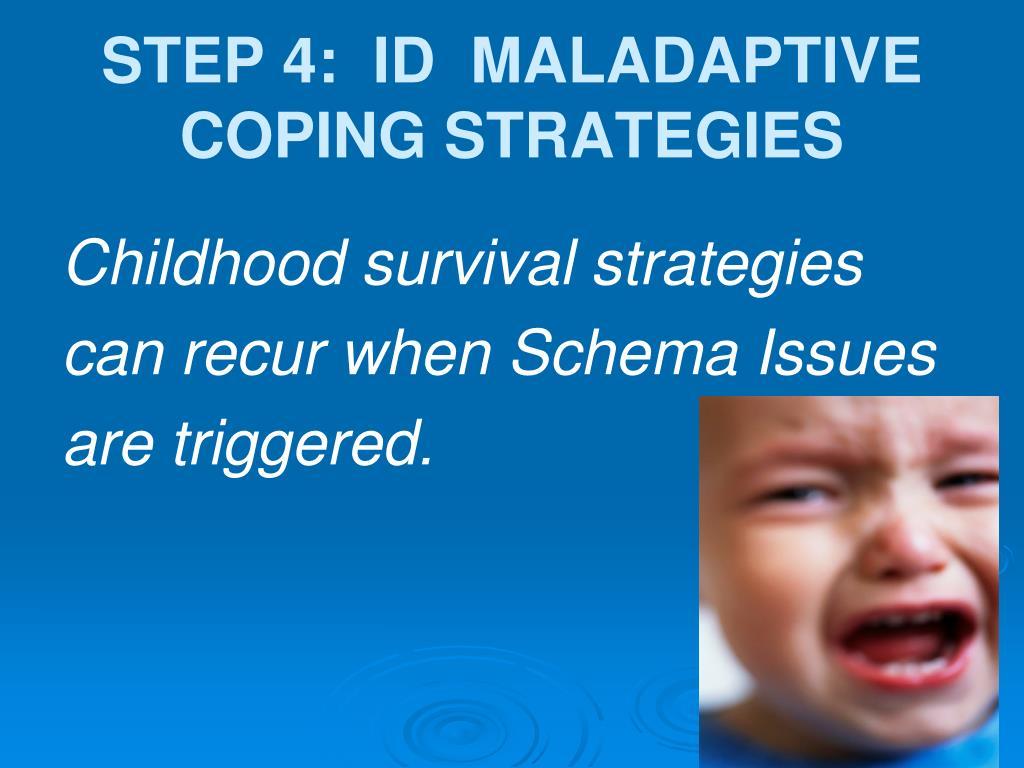 STEP 4:  ID  MALADAPTIVE