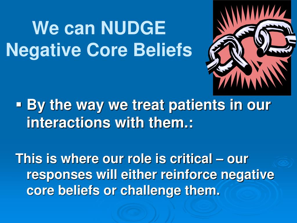 We can NUDGE