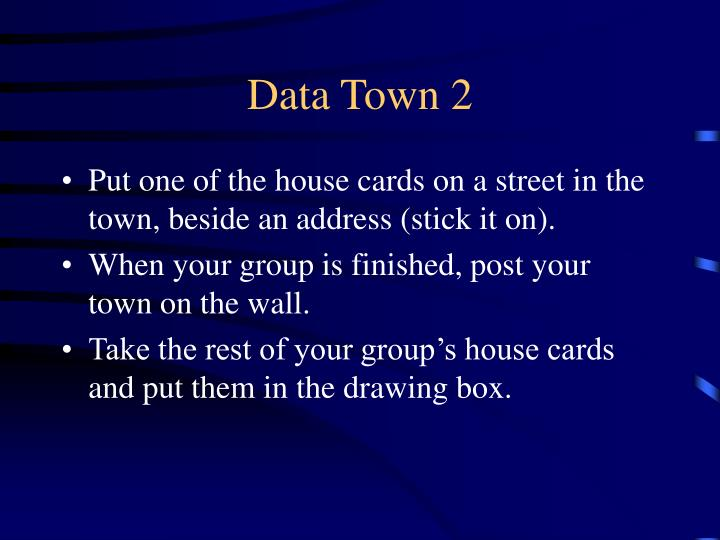 Data Town 2
