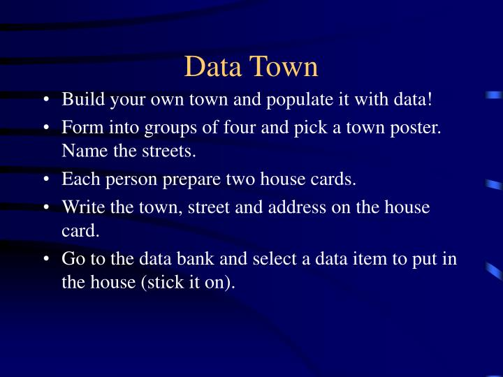 Data Town