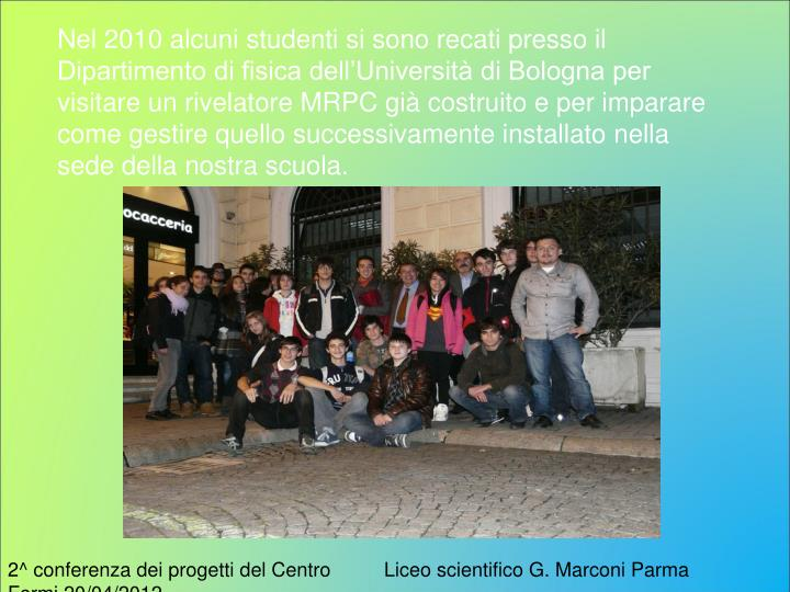Liceo scientifico G. Marconi Parma