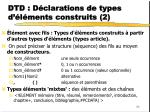 dtd d clarations de types d l ments construits 2