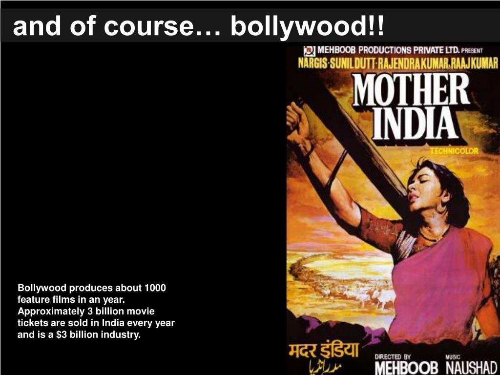 and of course… bollywood!!