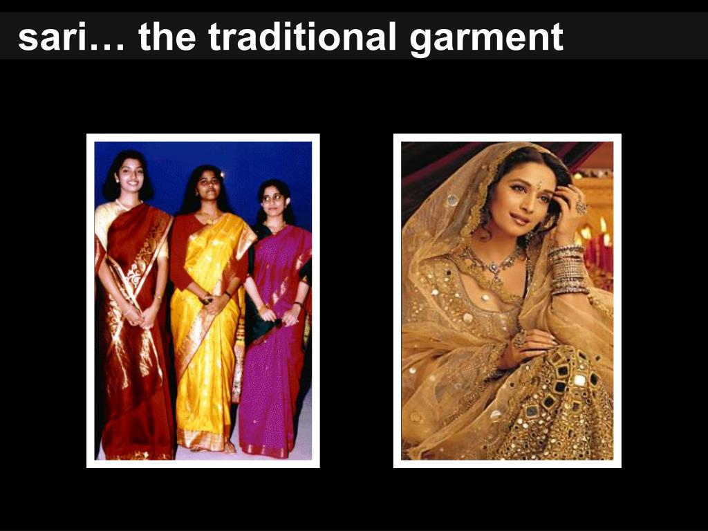 sari… the traditional garment