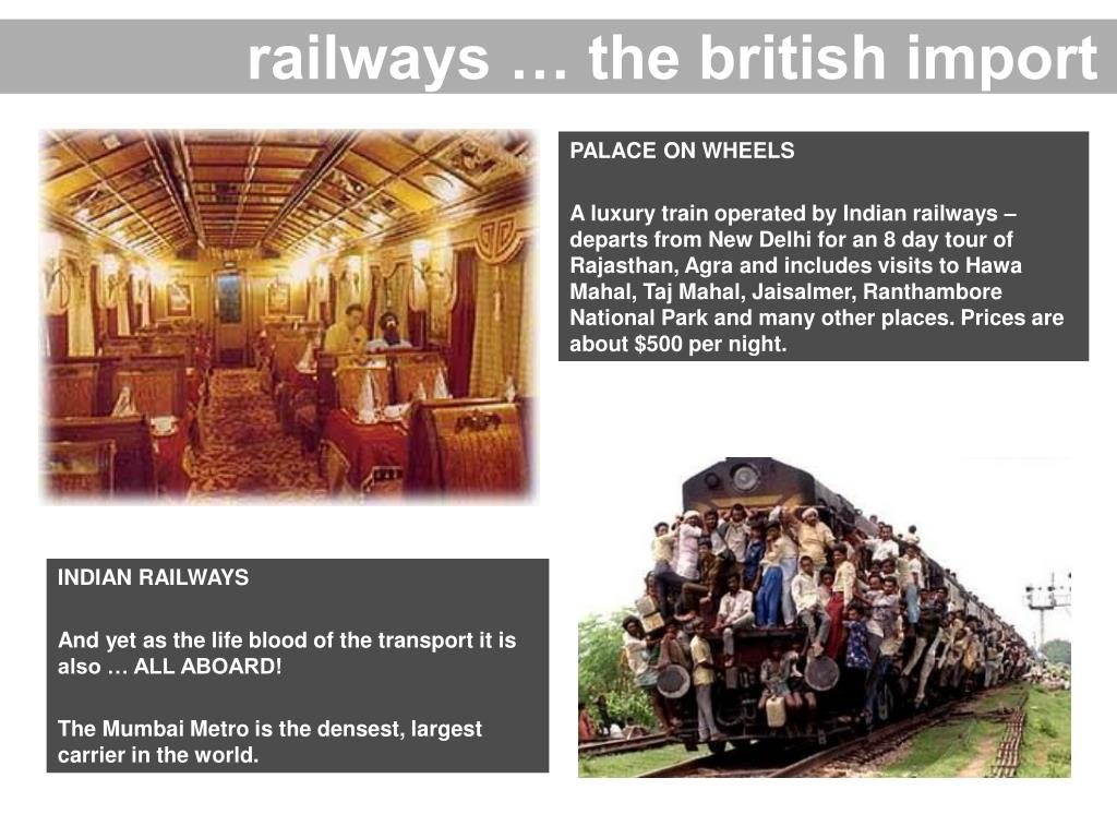 railways … the british import