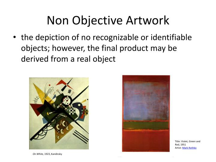 Non Objective Artwork
