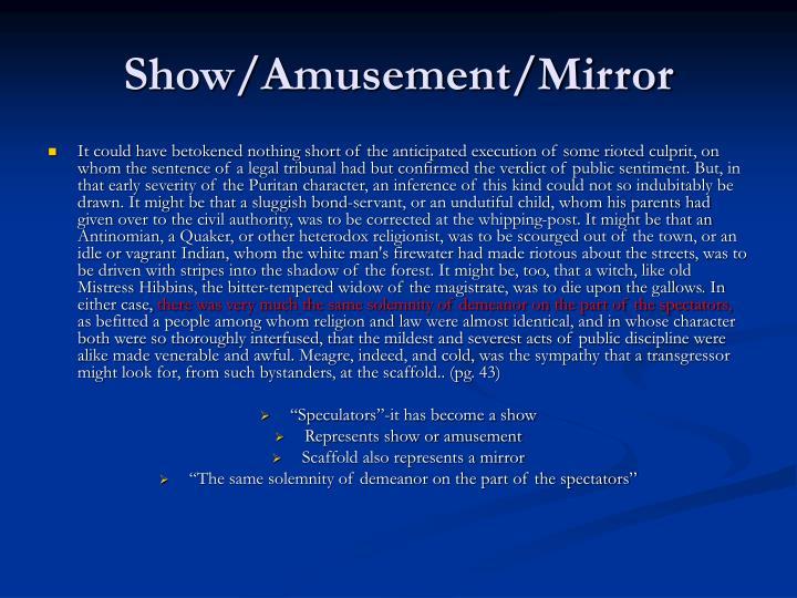 Show/Amusement/Mirror