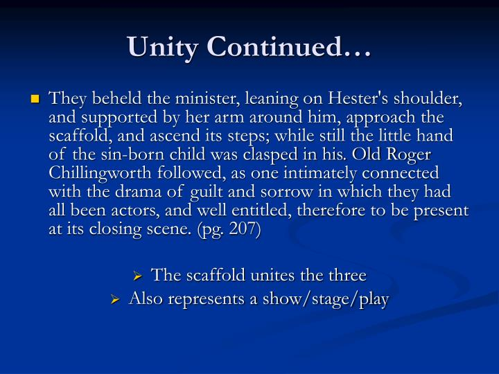 Unity Continued…