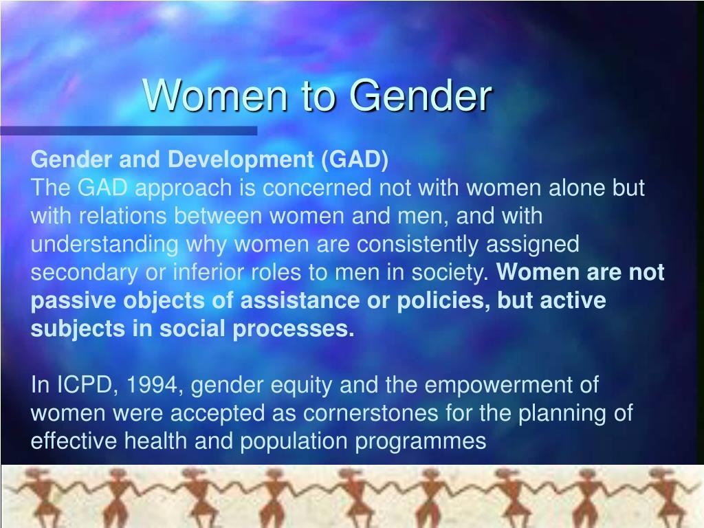 Women to Gender