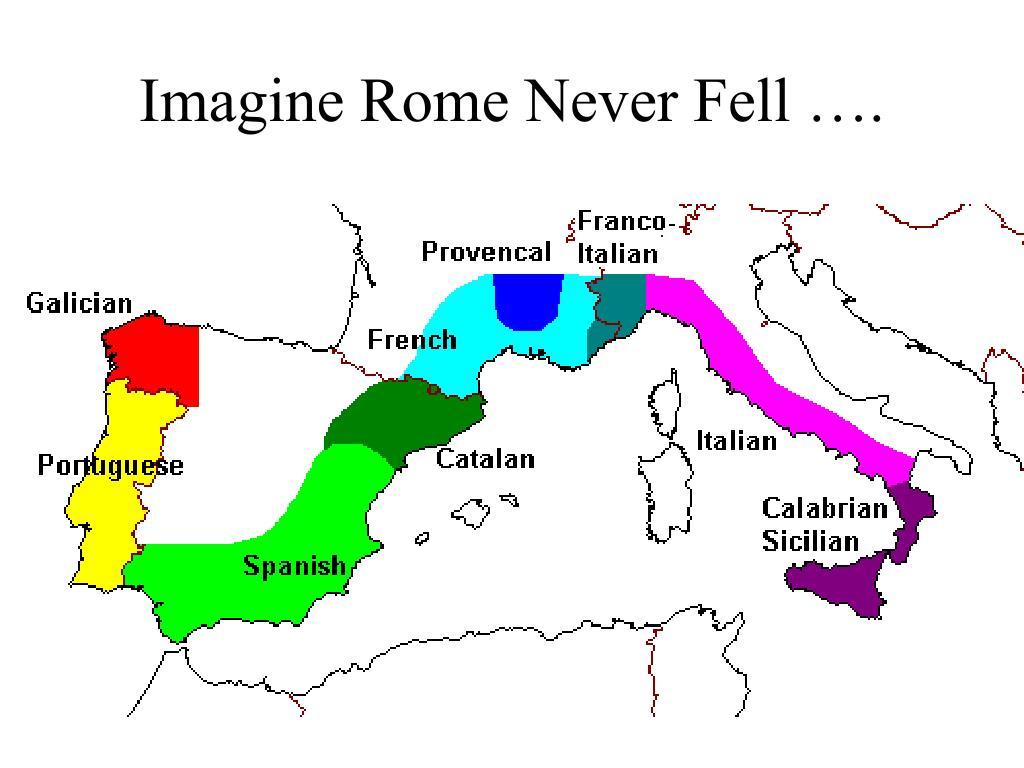 Imagine Rome Never Fell ….