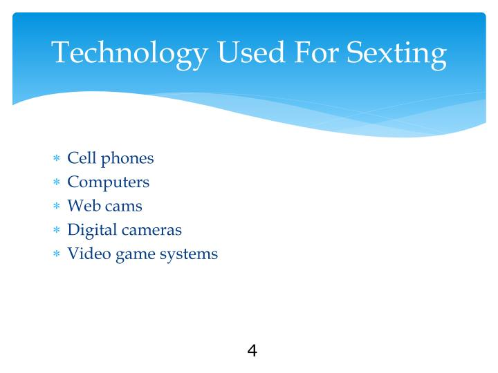 Technology Used For Sexting
