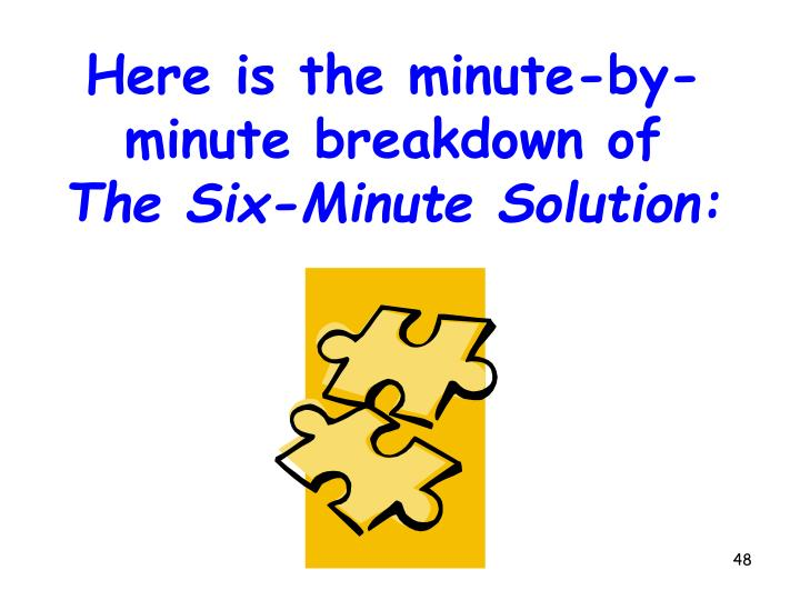 Here is the minute-by-minute breakdown of