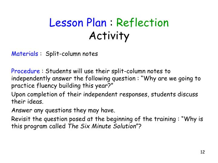 Lesson Plan