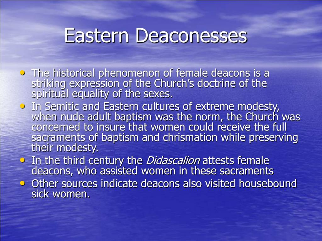 Eastern Deaconesses