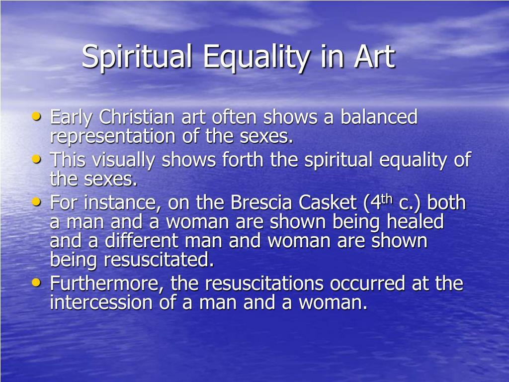 Spiritual Equality in Art