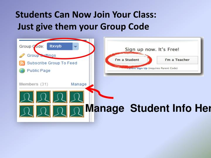 Students Can Now Join Your Class: