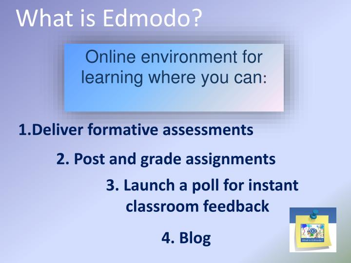 What is Edmodo?