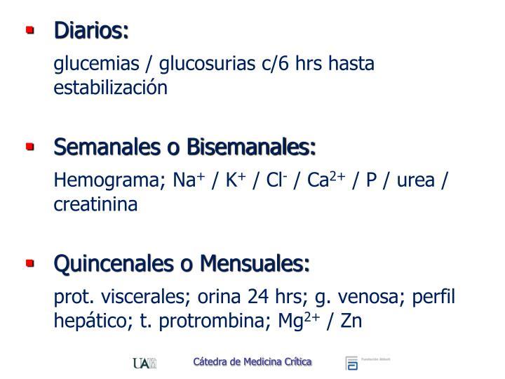 Diarios: