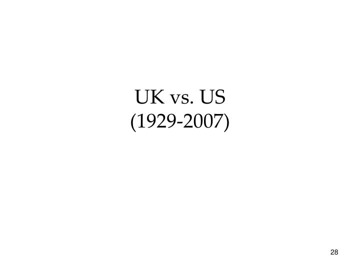 UK vs. US