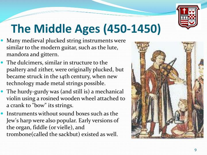 The Middle Ages (450-1450)