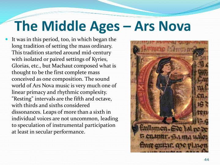 The Middle Ages –
