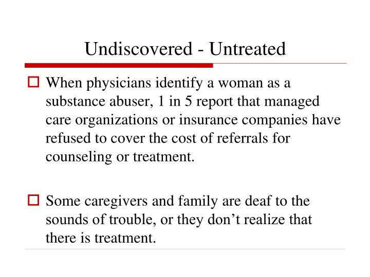 Undiscovered - Untreated