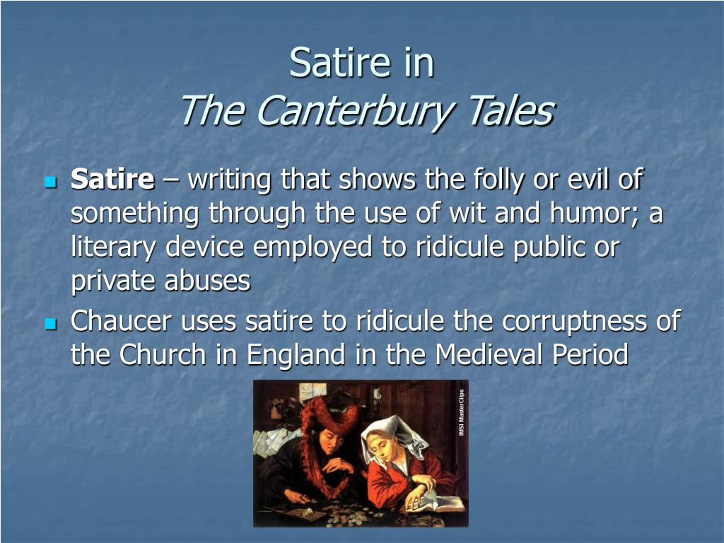 canterbury tales religion Chaucer and his tales writing the canterbury tales in medieval england, most people were illiterate spirituality and religion the work was unfinished when chaucer died the tales you'll hear at the canterbury tales: the knight's tale.