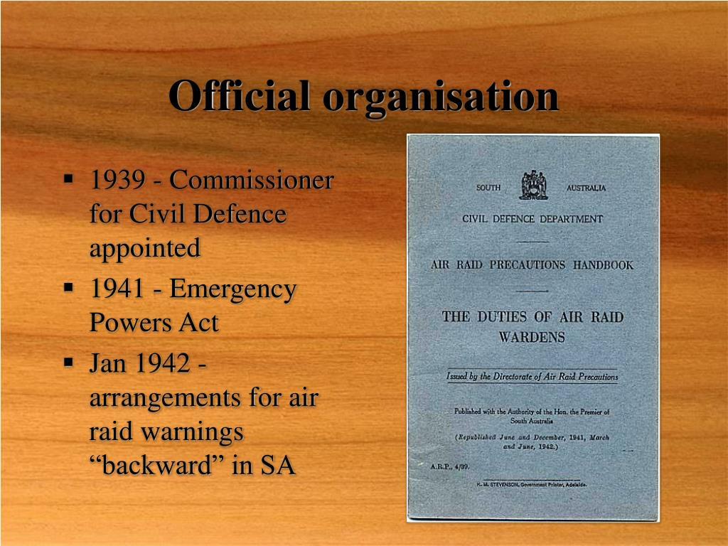 Official organisation