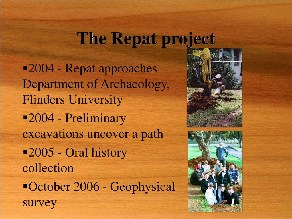 The Repat project