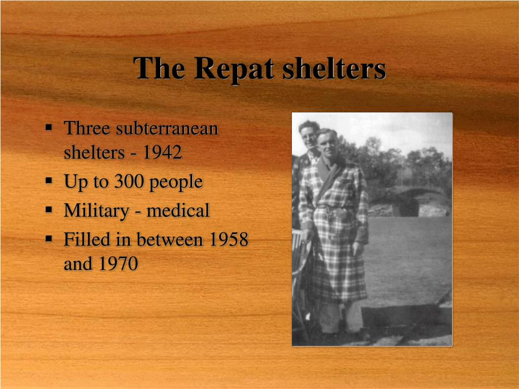 The Repat shelters