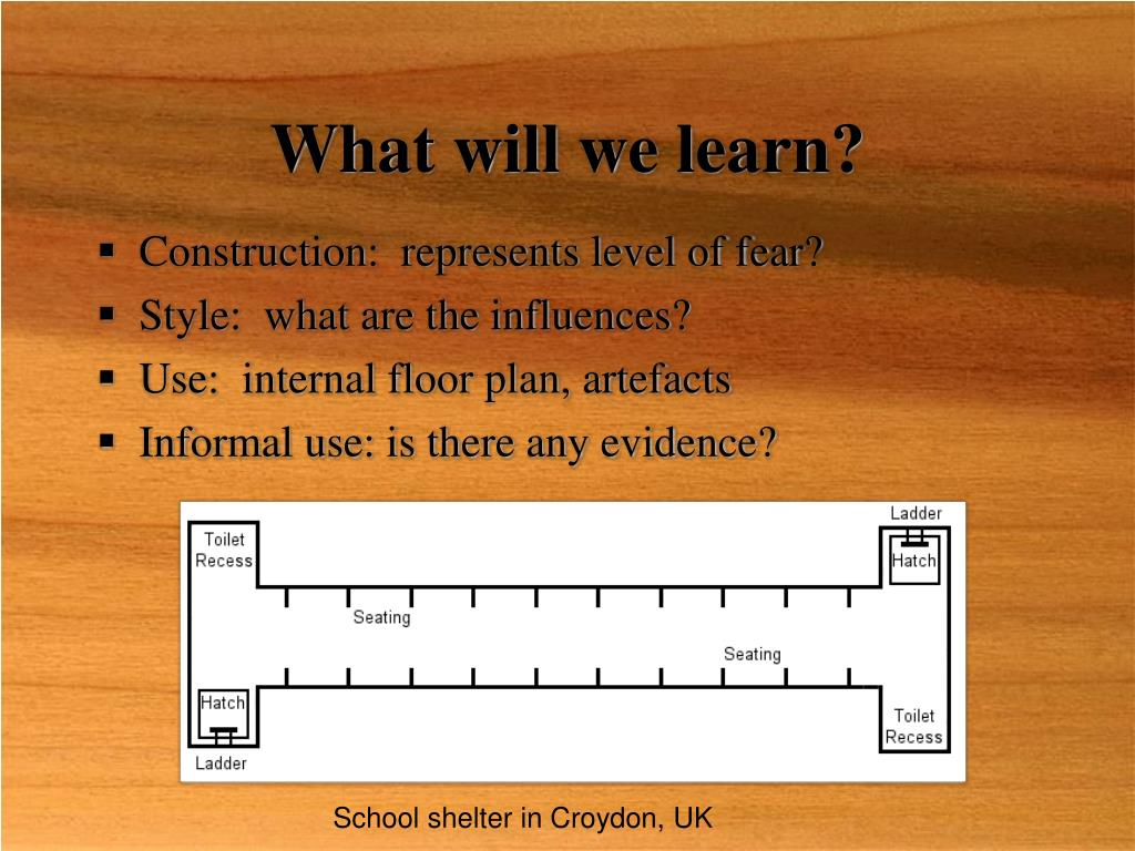What will we learn?