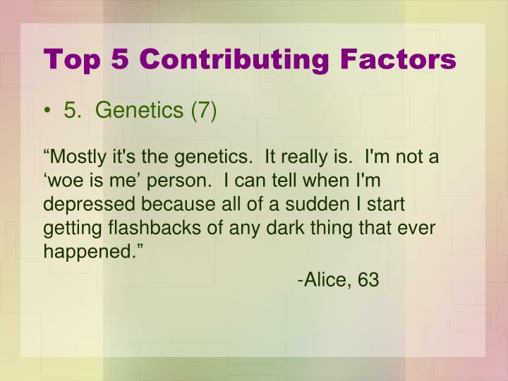 Top 5 Contributing Factors