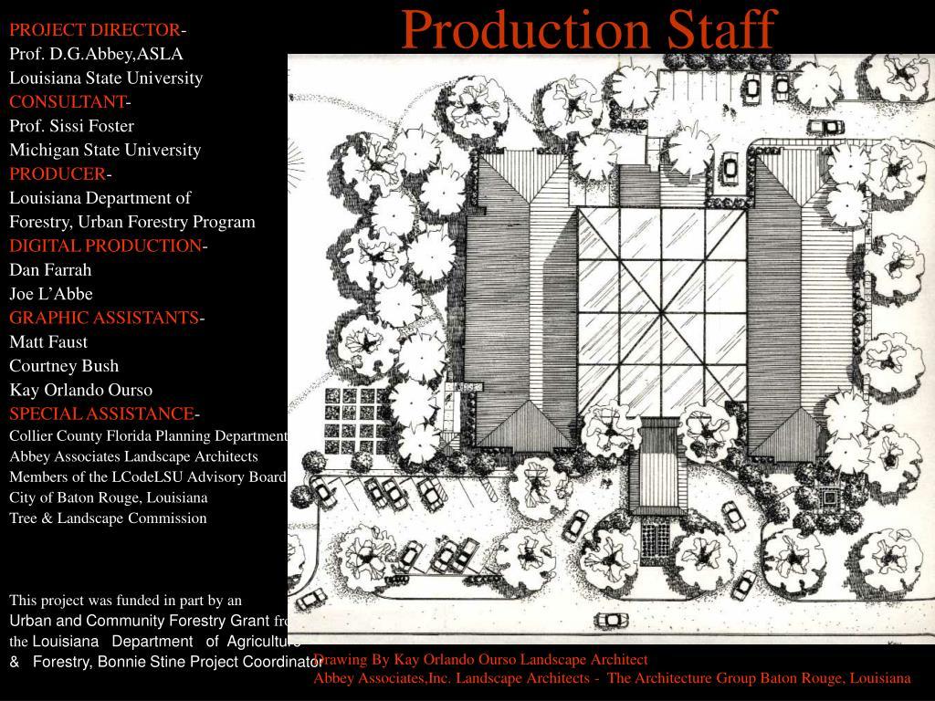 Production Staff