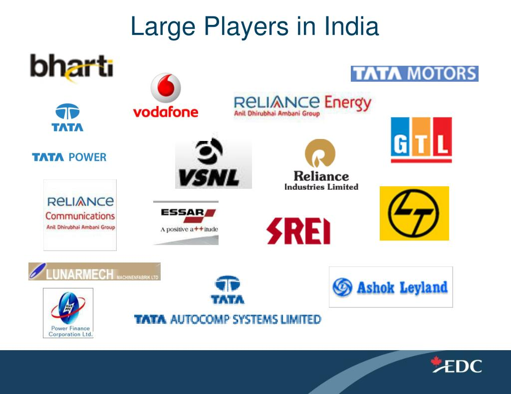 Large Players in India