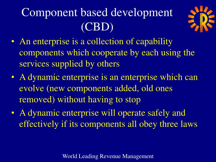 Component based development (CBD)