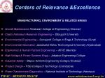 centers of relevance excellence8