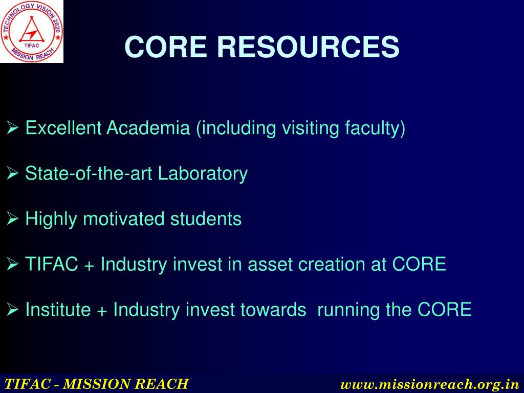 CORE RESOURCES