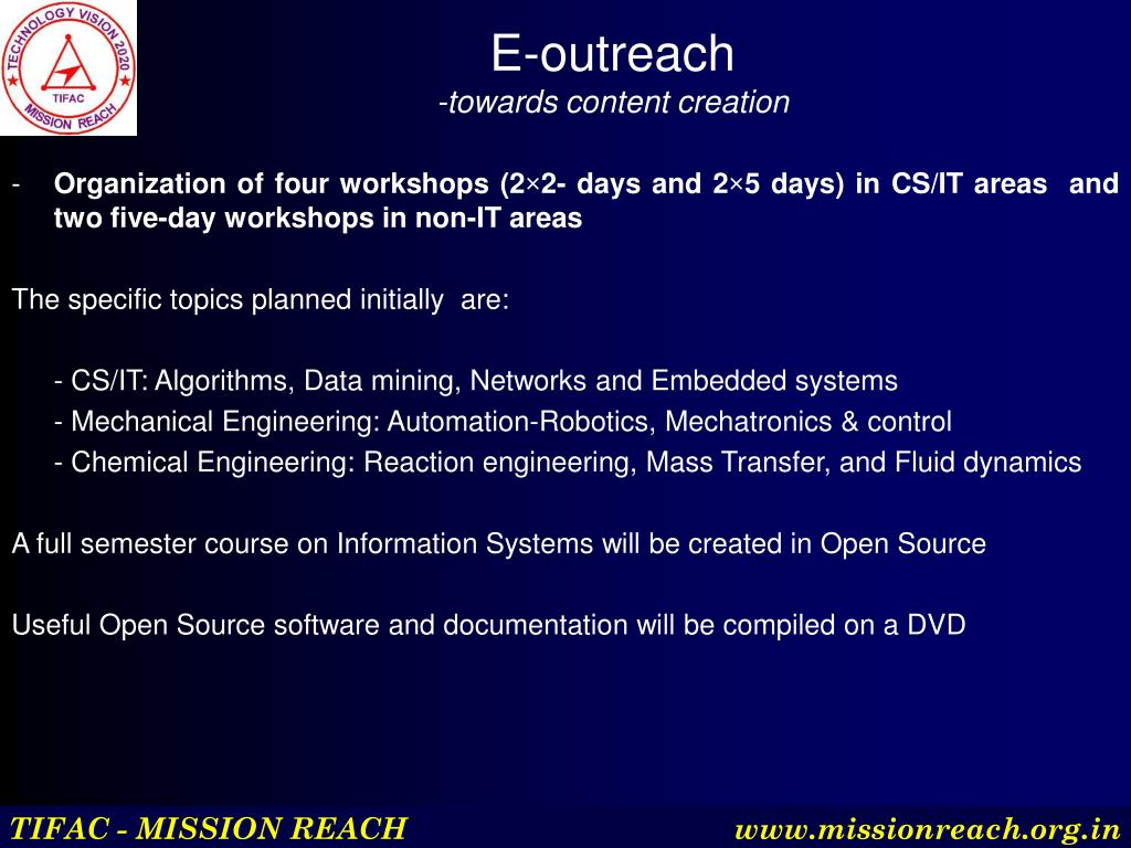 E-outreach