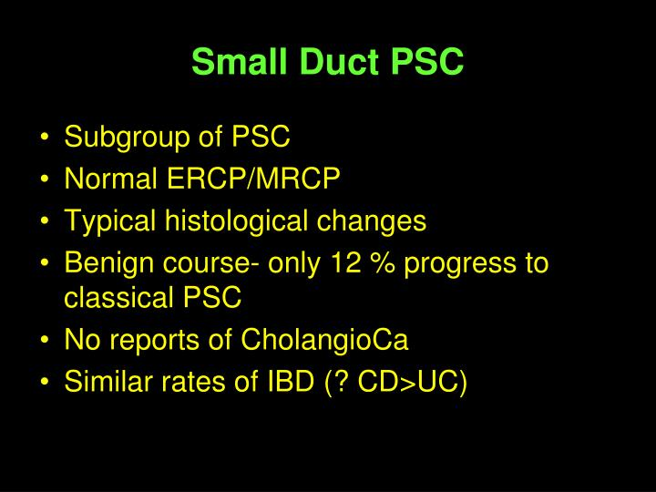 Small Duct PSC