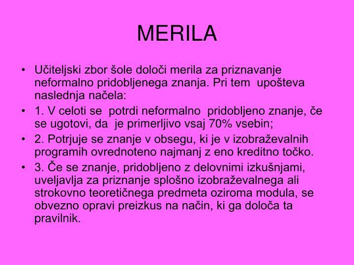 MERILA