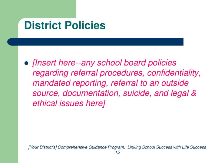 District Policies